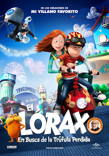 The Lorax DVDRip Español Latino